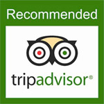 listed and recommended by tripadvisor.com